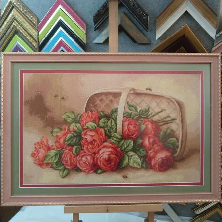 рамка для вишивки нитками 29 рожевий b7f2ceb5d586a