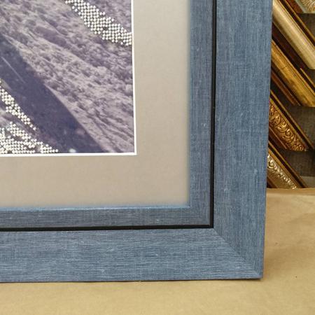 рамка для вишивки бісером 25 синій  d30fce495d1c1